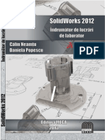 indrumator solidworks 2012