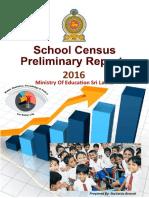Education - Department of Census and Statistics 2016