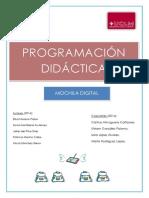 Programación Didáctica. Mochila Digital 2016.