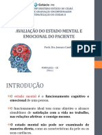Avaliação Do Estado Mental e Emocional Do Paciente