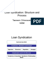 Loan Syndication-Structure, Pricing and Deal Making