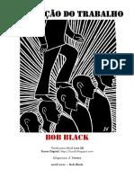 A Abolição Do Trabalho- Bob Black