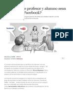 ¿Es Ético Que Profesor y Alumno Sean 'Amigos' en Facebook_ _ Comunidad Valenciana _ EL MUNDO