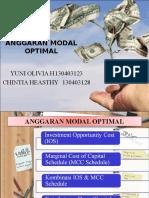 Anggaran Modal Optimal