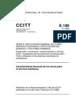 T-REC-E.180-198811-S!!PDF-S