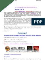 DNA Monthly Vol 3 No 10 NovDec07