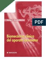 Bio Mecanic a Clinic Adela Para to Locomotor