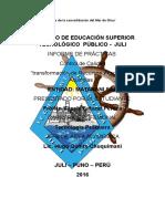 Informe de Practicas III MODULO