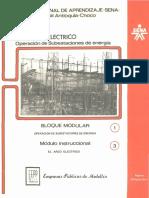 Operación de Subestaciones de Energía - Bloque Modular 1 - Módulo Instruccional 3 El Arco Eléctrico.