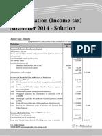 Dropbox - IPCC Tax Income-tax November 2014 Solution - Caultimates.com