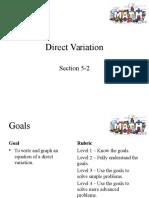 direct variation 11