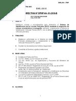 Dir - 01 - 2010-Rd-1588-09 Sistema Identificacion Locales