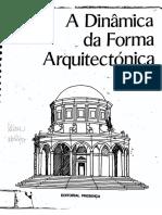 A Dinamica Da Forma Arquitetonica