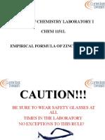 Emperical Formula Ppt