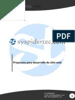 Propuesta Pagina Web