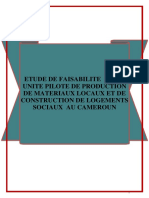 Business Plan Production Des Materiaux Locaux