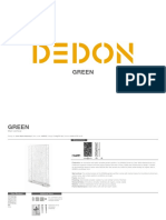Dedon Fact Sheets Green