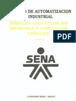 Vol. 1 Simples Circuitos de Memoria y Circuitos Lógicos - Manual