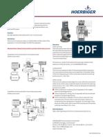 For Screw Compressor Minimum Pressure Valve Type MPVL