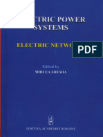 Electric Power Systems. Vol. I. Electric Networks.