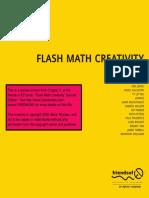 Flash Math Creativity Book Sample