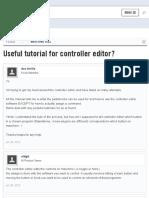 Useful tutorial for controller editor? | NI User Forum