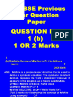 Qno 1 (b)