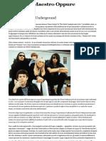 45 Anni Di Velvet Underground