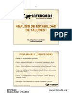 Analisis de Estabilidad i - Intercade