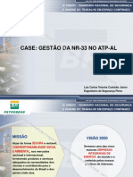 Case Petrobras Confinados