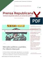 Mercados Políticos y Partidos - Alberto Mansueti