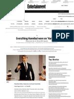 Everything Hannibal wore on 'Hannibal' | EW.com