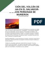 el proyecto de los desastres naturales