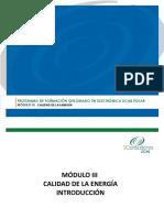 Presentacion Módulo II Calidad de La Energía