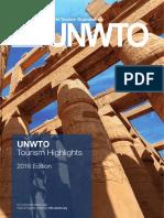Turismo 2016 UNWTO
