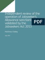 Jsa Sanctions Independent Review