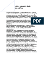 Sector editorial e industria de la comunicación gráfica