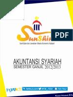 Sunshine Aksyar UTS Ganjil 20122013