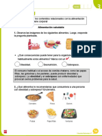 1° Alimentación saludable
