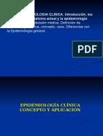Tema 3. Epidemiología Clínica