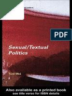 Sexualtextual Politics