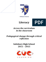 Pedagogical Change Report