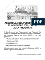 Assemblea del 20.11.09 - La locandina