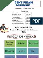 Ppt Identifikasi II
