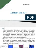 Lecture No.12