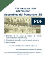 Assemblea del 15.03.10 - La locandina