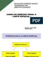 Derecho Penal II Parte Uno Ets 2016