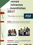 Jóvenes Cristianos Adventistas 2017