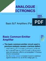 4 Chptr 1 - Basic BJT Amplifier(II)
