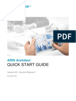 ARIS Architect Quick Start Guide v9.8 SR7